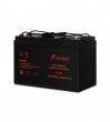 Battery 12V/100AH: напряжение - 12В, номинальная емкость - 100,0 Ач, Клеммы: M2 (? 16 мм; болт 6 мм под ключ 10 мм). Размеры: длина L (+/- 1):  329 мм, ширина W(+/- 1):- 172 мм, высота корпуса H (+/- 2): 215 мм, высота с клеммами TН(+/- 2): 220 мм (БАТАРЕ
