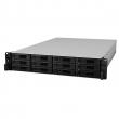 Synology Expansion Unit (Rack 2U) for RS18017xs+ up to 12hot plug HDDs SATA, SAS, SSD(3,5' or 2,5')/2xPS incl SAS Cbl (RX1217SAS)