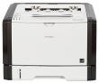 Лазерный принтер Ricoh LE SP 377DNwX, A4, 128Мб, 28стр/мин, дуплекс, PCL, LAN, WiFi, NFC, старт.картридж 6400стр (408152)
