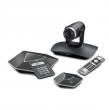 YEALINK (Система видеоконференцсвязи Yealink VC110-Phone в составе: кодек VC110 Full HD + HD камера 'all-in-one unit', видео-конференц-телефон VCP41, USB адаптер, кабельный хаб, пульт управления VCR10, соединительные кабели, сервисный контракт AMS .) VC11