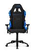 Игровое кресло AKRacing K7012, AK-7012-BL. Цвет:Black/Blue