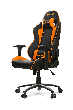 Игровое кресло AKRacing NITRO, AK-NITRO-OR. Цвет:Black/Orange