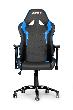 Игровое кресло AKRacing OCTANE, AK-OCTANE-BL. Цвет:Black/Blue AK-OCTANE-BL / OCTANE K702B BLUE