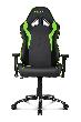 Игровое кресло AKRacing OCTANE, AK-OCTANE-GN. Цвет:Black/Green AK-OCTANE-GN / OCTANE K702B GREEN
