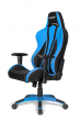 Игровое кресло AKRacing PREMIUM Plus, AK-PPLUS-BL. Цвет:Black/Blue