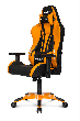 Игровое кресло AKRacing PREMIUM Plus, AK-PPLUS-OR. Цвет:Black/Orange