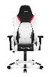 Игровое кресло AKRacing ARCTICA, ARCTICA-WHITE. Цвет:White/Black