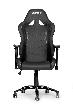 Игровое кресло AKRacing OCTANE, AK-OCTANE-BK. Цвет:Black AK-OCTANE-BK / OCTANE K702B BLACK