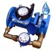 Комбинированный Счетчик холодной воды Тепловодомер ВСХНК 80/20 IP68, DN 80/20, IP68