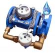 Комбинированный Счетчик холодной воды Тепловодомер ВСХНКД-80/20 IP68 с импульсным выходом, DN 80/20, IP68