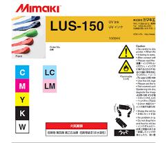 УФ чернила Mimaki LUS-150UV, 1000мл, Yellow