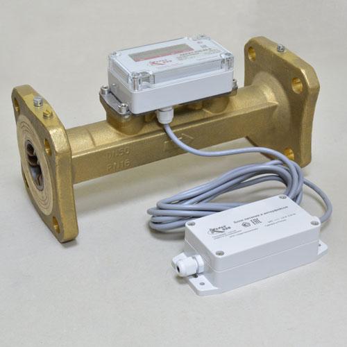 Расходомер-счетчик Карат-520-20-5 / имп. вых. / бат. 3,6 В / IP68