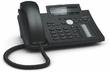 SNOM D345 Настольный IP-телефон. 12 учетных записей SIP, Графический монохромный экран 4' + второй экран TruePaperless, 48 самомаркирующихся клавиш (12 физических), 2-порта 10/100/1000, USB 2.0, PoE, Сенсорная функция поднятия трубки, Блок питания пр (Sno