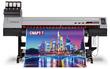 Универсальный UV-LED(C, M, Y, K) плоттер MIMAKI UJV100-160
