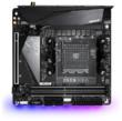 Материнская плата Gigabyte B550I AORUS PRO AX Soc-AM4 AMD B550 2xDDR4 mini-ITX AC`97 8ch(7.1) 2.5Gg RAID+HDMI+DP GIGABYTE