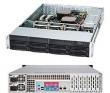 Корпус SERVER CHASSIS 2U 720W SAS BK/CSE-825TQ-R720LPB SUPERMICRO