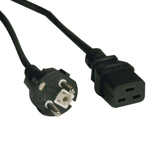 Tripp Lite (power cable (250V/16A) - 8 ft, IEC-60320-C19 to CEE 7/7) P050-008