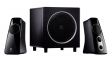 Logitech Speaker System Z523, 2.1, 40W(RMS), Black, (980-000321)