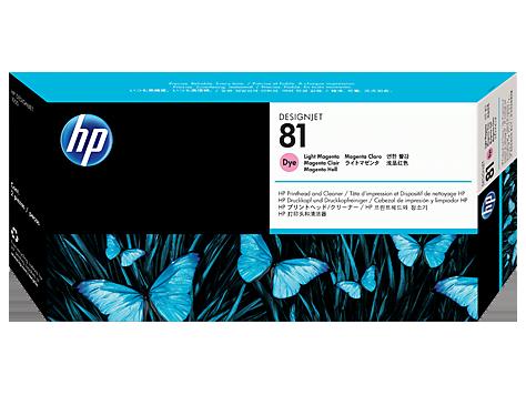 Печатающая головка Hewlett Packard  C4955A №81 светло-пурпурная