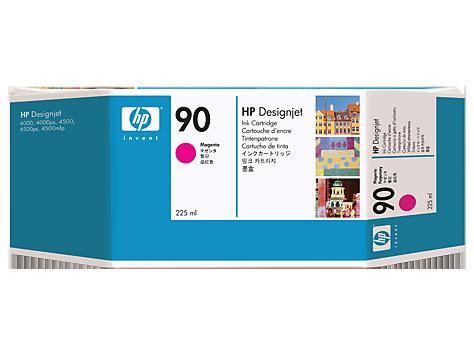 Картридж струйный HP C5062A magenta №90 для Designjet 4000/4000ps/4500/4500p (225 мл)
