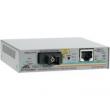 Allied Telesis Single-fiber 10/100M bridging converter with 1550Tx/1310Rx, 15km reach, operating temperature of 65C (AT-FS238B/1-YY)