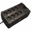 Tripp Lite (550VA Low profile UPS.  AVR line interactive modified sine wave.  Comm. Port:  1 USB. Outlets:  6 (IEC-320-C13).) AVRX550UD