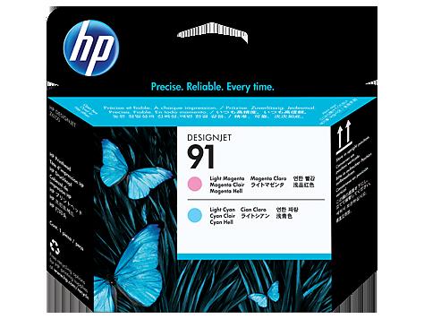 Печатающая головка HP 91 Light Magenta and Light Cyan Printhead C9462A