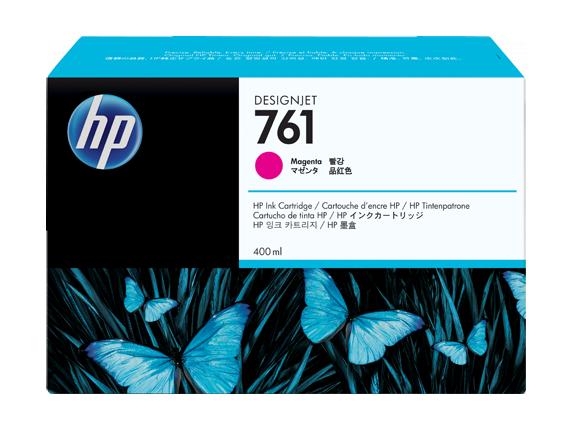 Hewlett Packard (HP 761 400-ml Magenta Designjet Ink Cartridge) CM993A