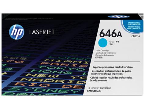Hewlett Packard (HP CLJ CM4540MFP CYAN PRINT CART) CF031A