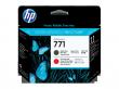Печатающая головка HP 771 Designjet (матовый черный/хроматический красный) (CE017A)