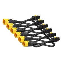 Power Cord Kit AP8716S (6 pack), Locking, IEC 320 C19 to IEC 320 C20, 16A, 208/230V, 1,8m (AP8716S) APC
