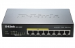 D-Link (8 x 10/100/1000 Mbps Ethernet ports (Ports 1-4 are PoE ports, Ports 5-8 are non-PoE ports), Unmanaged Gigabit Switch) DGS-1008P