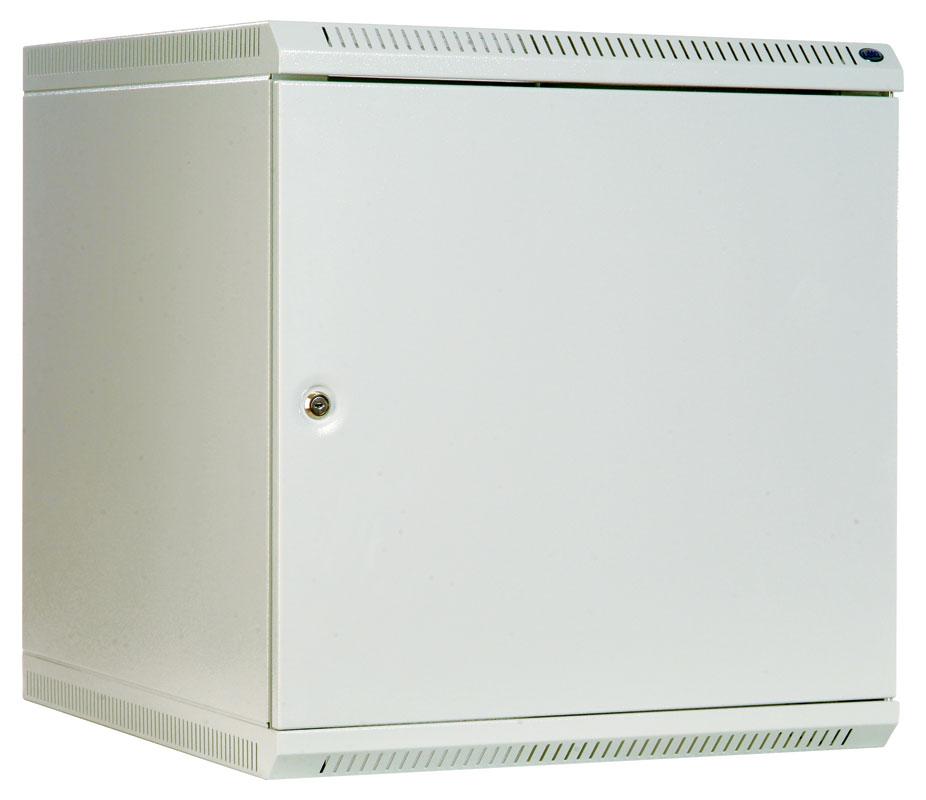 Шкаф телекомм. настенный разборный 18U (600x350) дверь металл (ШРН-Э-18.350.1) ЦМО
