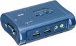 Trendnet Net Switch KVM 2PORT W/AUDIO TK-209K