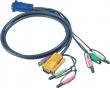 ATEN (CABLE HD15M/MD6M/MD6M/SP/SP-SP; 3M) 2L-5303P