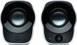 Logitech (Speaker  System 2.0 Logitech Z120, Stereo, 2*1.2Вт, 3.5 mm input  Black&White, BOX) 980-000513