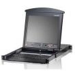 ATEN (8P CAT-5 DUAL RAIL LCD KVM SW 17INCH) KL1508AMR
