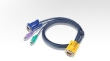 ATEN (CABLE SP15M -HD15M/MINIDIN6M 3m) 2L-5203P