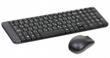 Комплект беспроводной Logitech Wireless Combo MK220, USB, black, черный, 920-003169