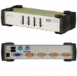 ATEN (CUBIQ 4 PORT USB & PS/2 KVM SWITCH) CS84U
