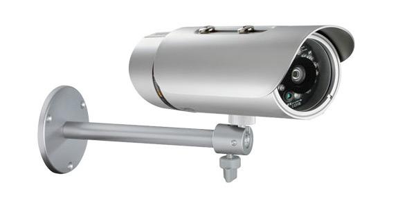 "D-Link (1/4"" megapixel CMOS sensor, Real-time H.264/ MPEG-4/ MJPEG, Max. resolution 1280x800 at 30 fps) DCS-7110"