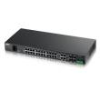 Коммутатор ZyXEL MES3500-24 24-порт L2+ Metro Fast Ethernet 4 порта Gigabit Ethernet с SFP-слотами MES3500-24-EU01V1F