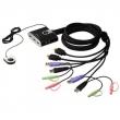 ATEN (PETITE 2 PORT USB2.0 HDMI KVM SWITCH.) CS692