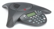 Polycom (SoundStation2 (analog) conference phone with display. Expandable. Includes 220V-240V AC power/telco module, power cord with CEE7/7 plug, 6.4m console cable, 2.8m telco cable. Does NOT include expansion mics) 2200-16200-122