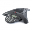 Polycom (SoundStation2 (analog) conference phone with display. Non-expandable. Includes 220V-240V AC power/telco module, power cord with CEE7/7 plug, 6.4m console cable, 2.8m telco cable) 2200-16000-122
