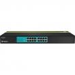 TRENDNET TPE-T160, 16-Port 30W 10/100Mbps PoE+ Switch