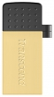 Transcend (Флеш-накопитель Transcend 32GB JETFLASH 380 (Gold) micro-USB / USB2.0) TS32GJF380G