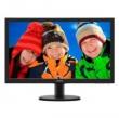 PHILIPS (Монитор LCD 23,6'' (16:9) 1920х1080 TN, nonGLARE, 250cd/m2, H170°/V160°, 20М:1, 16,7M Color, 5ms, VGA, DVI, HDMI, Tilt, , Black) 243V5LHSB (00/01)