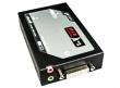 Удлинитель видео-/аудиосигнала Rextron (до 1900x1080), ретрасляторный блок: 1 вход (1x RJ45 LAN-порт + 1x USB-B), 1 выход (DVI + 2x 3,5 мм mini-jack) (VACND-H90)