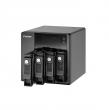 Qnap VS-4112-PRO+ (IP-система видеонаблюдения с 12 каналами для записи видео и четырьмя отсеками для жестких дисков)